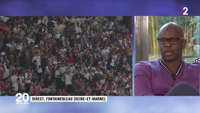 """Racisme dans le football : """"Les institutions n'ont pas fait leur travail"""", estime Lilian Thuram"""