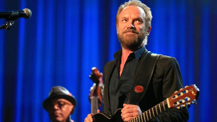 Sting sur scène à Los Angeles en 2015  (Christopher Polk / GETTY IMAGES NORTH AMERICA / AFP)