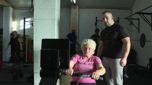 À 86 ans, Madeleine est une championne d'aviron. Des journalistes de France 3 l'ont suivie à l'entraînement en Indre-et-Loire. (France 3)