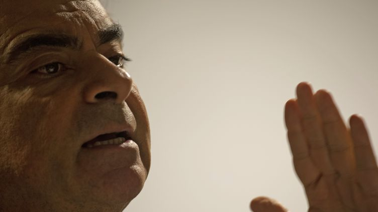 Carlos Ghosn, président de Renault-Nissan le 23 novembre 2012 (CHRISTOPHE SIMON / AFP)