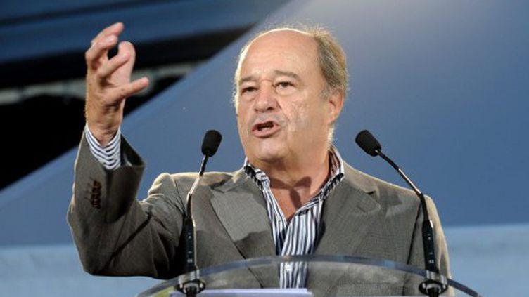 Jean-Michel Baylet au congrès du PRG en 2009 (AFP)