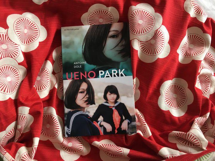 """Couverture de """"Ueno Park"""", Antoine Dole (Actes Sud Junior)"""