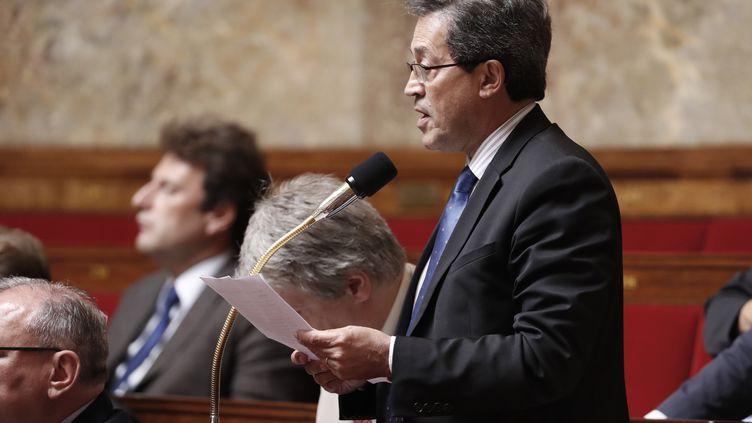 Georges Fenech, le député Les Républicains à l'Assemblée nationale à Paris, le 20 juillet 2016. (FRANCOIS GUILLOT / AFP)