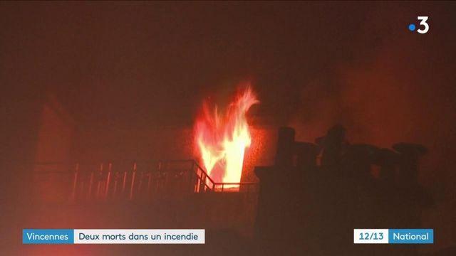 Vincennes : l'incendie a entraîné la mort de deux personnes
