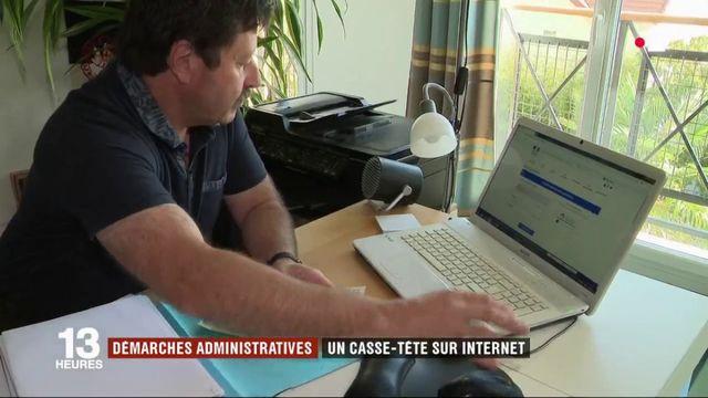 Internet : le casse-tête des démarches administratives