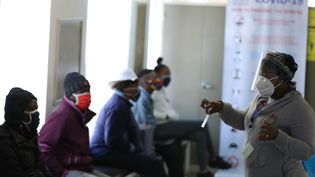 Hôpital Baragwanath à Soweto, Afrique du Sud, le24 juin 2020. (SIPHIWE SIBEKO / POOL)