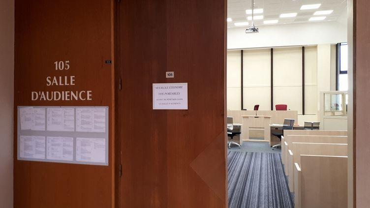 Le tribunal correctionnel de Rennes, en Ille-et-Vilaine. (LOÏCK GUELLEC / FRANCE-BLEU ARMORIQUE)