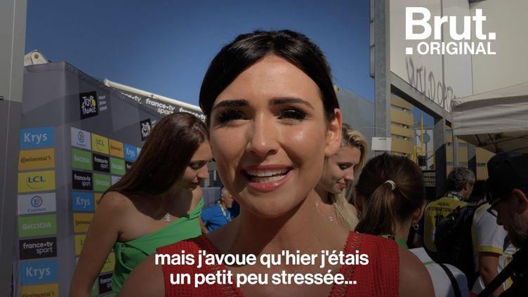 VIDEO. Une journée avec des hôtesses du Tour de France (BRUT)