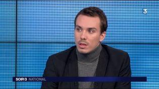 Samuel Leré, spécialiste de l'environnement. (FRANCE 3)