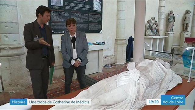 L'effigie funéraire de Catherine de Médivcis exposée à Blois