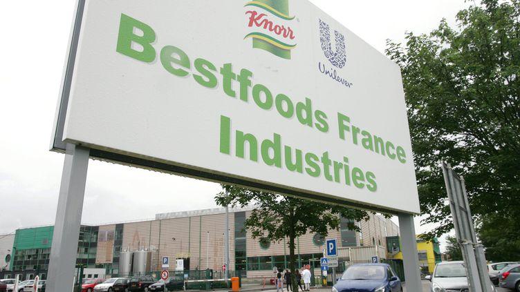 L'usine Knorr de Duppigheim (Bas-Rhin). (MAXPPP)