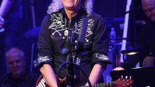 Le guitariste de Queen Brian May le 12 novembre 2019 sur scène à Nashville, aux États-Unis (RICK DIAMOND / REX / SIPA / SHUTTERSTOCK)