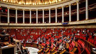 Les députés débattent du projet de loi sur la sécurité intérieure, le 25 septembre 2017, à l'Assemblée nationale, à Paris. (MAXPPP)