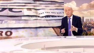 Le journaliste de France 2 François Lenglet. (CAPTURE D'ÉCRAN FRANCE 2)