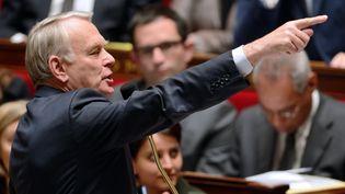 Jean-Marc Ayrault s'exprime devant les députés, le 26 mars 2013, à l'Assemblée nationale, à Paris. (ERIC FEFERBERG / AFP)