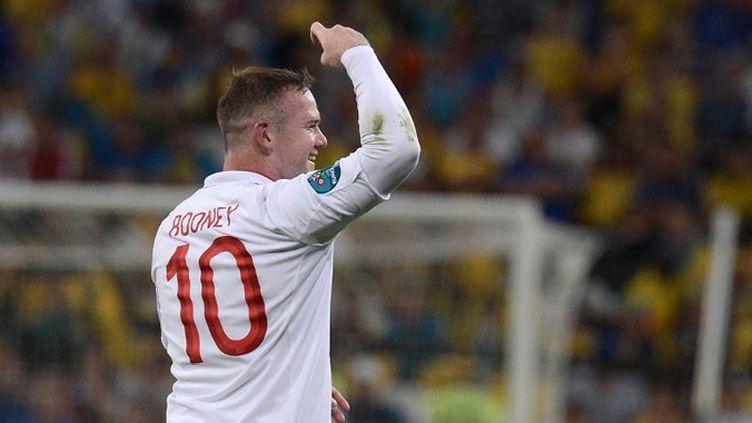 Wayne Rooney célèbre son but