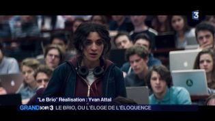 Camélia Jordana dans Le brio (France 3)