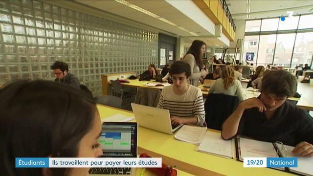 Étudiants : ils travaillent pour payer leurs études