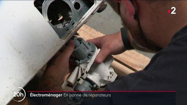 Électroménager : les machines en manque de réparateurs