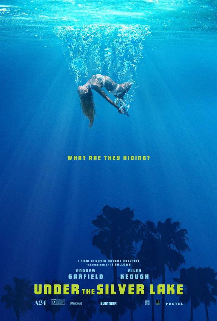"""Under the Silver Lake"" : l'affiche  (Le Pacte)"