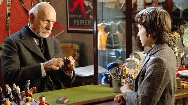 "Ben Kingsley et Asa Butterfield dans ""Hugo Cabret"" de Martin Scorsese  (Metropolitan FilmExport)"