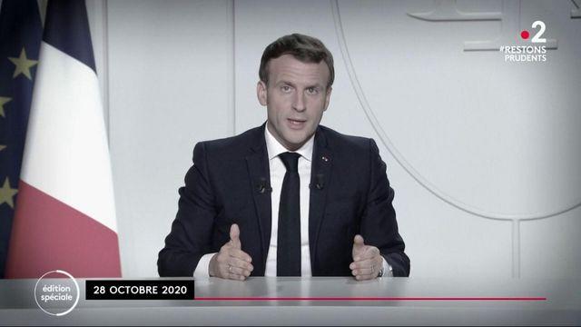 Annonces d'Emmanuel Macron : les cartes de l'épidémie