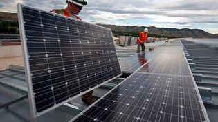 Les douanes françaises ont découvert une fraude aux droits d'entrée de panneaux photovoltaïques chinois. (DOUANE FRANCAISE)