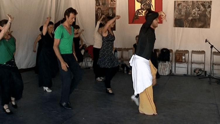 Cours de flamenco  (France 3)