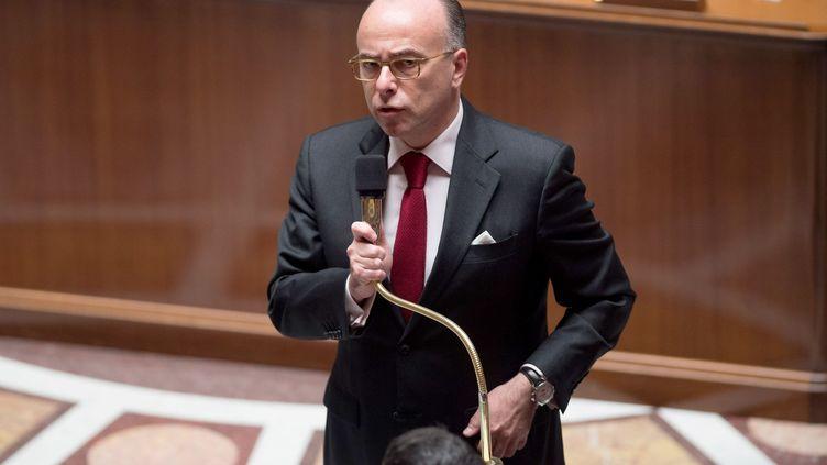 Bernard Cazeneuve à l'Assemblée nationale, le 12 novembre 2014. (VILLARD / SIPA)