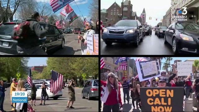 États-Unis : des manifestants conservateurs appellent à rouvrir l'économie malgré l'épidémie