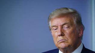 Le président américain Donald Trump à la Maison Blanche à Washington, le 20 novembre 2020. (MANDEL NGAN / AFP)