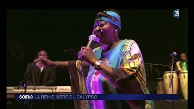 Calypso Rose : l'artiste caribéenne toujours en forme