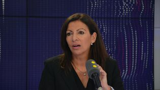 Anne Hidalgo, Maire PS de Paris. (RADIO FRANCE / JEAN-CHRISTOPHE BOURDILLAT)
