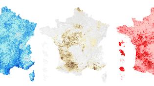 Dans quelles villes françaises faut-il habiter pour être à l'abri des catastrophes naturelles ? (NICOLAS ENAULT / CARTO)