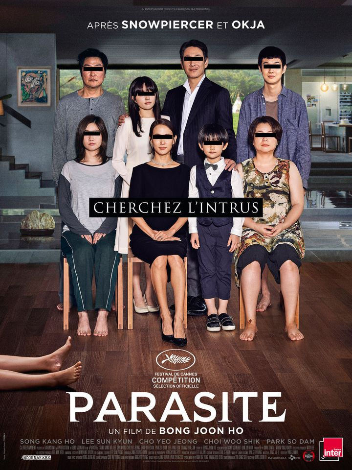"""Parasite"" de Boon Joon-Ho (2019) (LES BOOKMAKERS / THE JOKERS / ALLOCINE)"