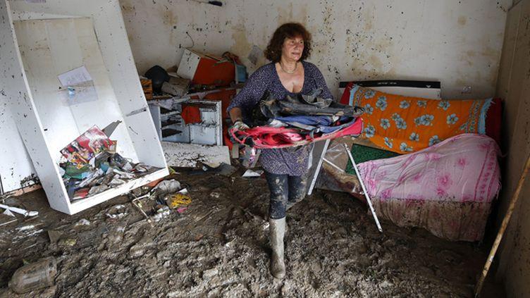 (A Biot, les habitants et bénévoles nettoient depuis une semaine © MaxPPP)