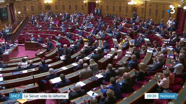SNCF : le Sénat votre pour la réforme