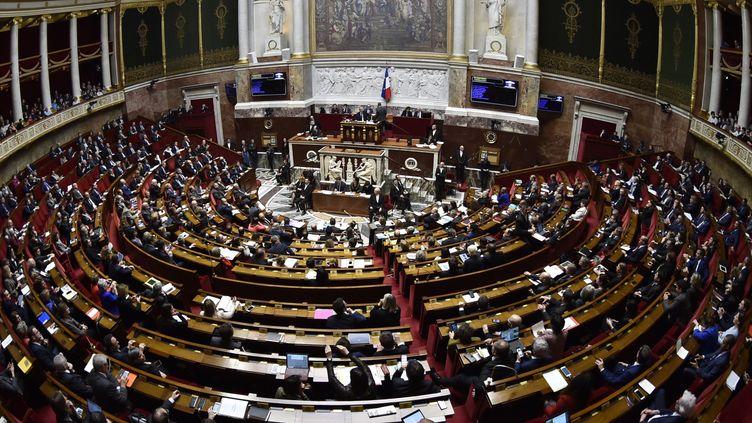 L'Assemblée Nationale, mars 2018  (GERARD JULIEN / AFP)