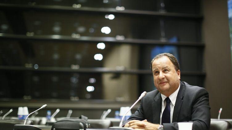 Stéphane Fouks avant son audition par la commission d'enquête parlementaire, à l'Assemblée nationale, le 17 juillet 2013. (MAXPPP)