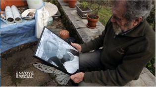 """""""C'est très peu"""" : un an avec sursis pour le chasseur qui a tué Thérèse dans son jardin en 2017 (CAPTURE ECRAN / ENVOYE SPECIAL / FRANCE 2)"""