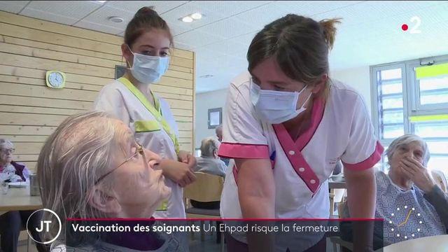 Vaccination obligatoire des soignants : un Ehpad du Jura menacé de fermeture