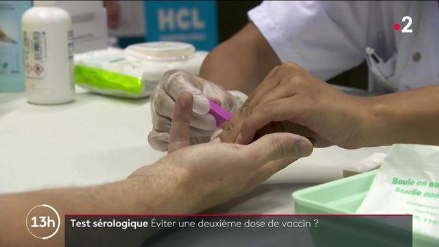 Vaccin contre le Covid-19 : un test sérologique pour éviter une seconde dose