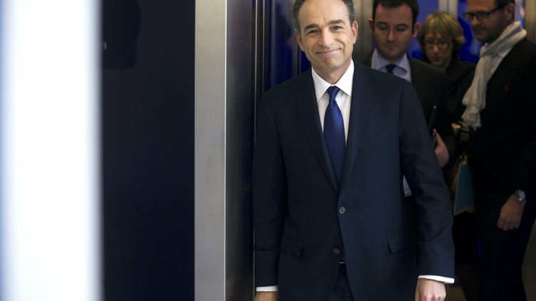 Le president de l'UMP Jean-François Copéle 29 mars 2013 à Paris. (FRED DUFOUR / AFP)