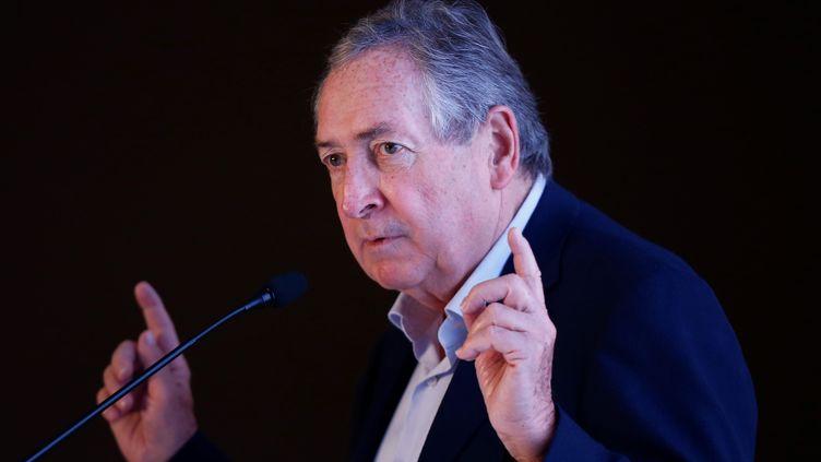 Gérard Houllier, en novembre 2018 (MUSTAFA CIFTCI / ANADOLU AGENCY)