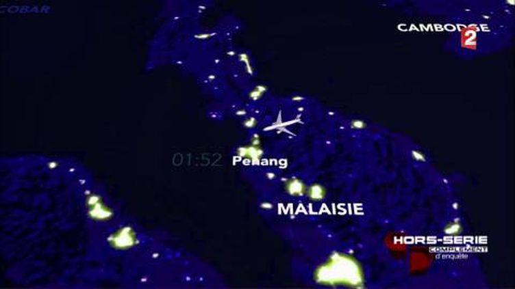 """""""Complément d'enquête"""". Vol MH370 : la """"grosse bourde"""" de l'armée malaisienne (COMPLÉMENT D'ENQUÊTE / FRANCE 2)"""