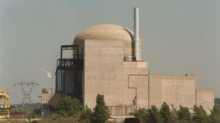 La centrale nucléaire de saint-Alban en Isère, le 28 août 1992. (PASCAL GUYOT / AFP)