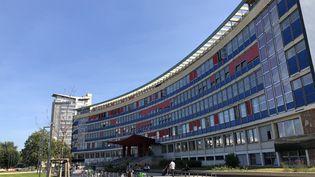 Les étudiants ont retrouvé les bancs de l'Université de Strasbourg mercredi 8 septembre. (NOEMIE BONNIN / RADIO FRANCE)