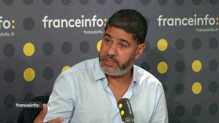 Rachid Benzine, islamologue et chercheur associé au Fonds Paul Ricœur. (FRANCEINFO / RADIOFRANCE)