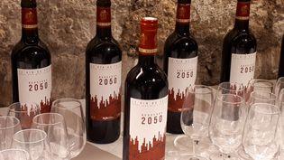 Des experts ont imaginé un vin de Bordeaux millésime... 2050. (SOPHIE AUVIGNE - RADIOFRANCE)