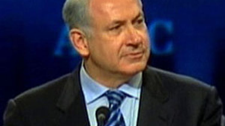 Le Premier ministre israélien Benjamin Netanyahu à Washington (23 mars 2010) (F2)